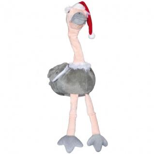 Weihnachtsstraußvogel, Lied: I wish, singend mit rotierendem Hals