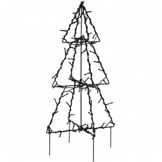 LED-Tannenbaum, 90 warmweiße LEDs, H 50 cm