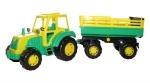 Little Farmer Traktor mit 2-Achsanhänger