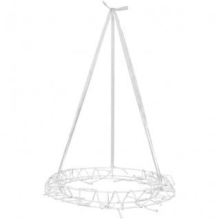 LED-Kranz 40 warmweiße LEDs Metall