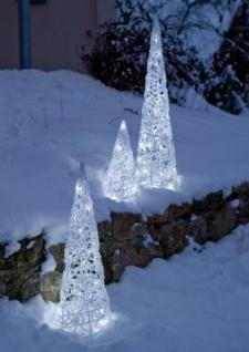 Hellum LED Pyramide Acryl Kegel 70cm