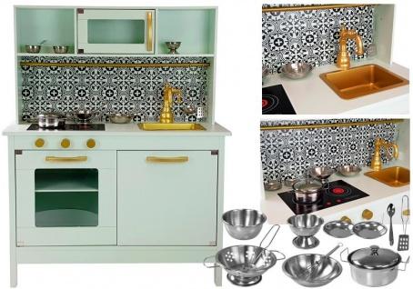 Holzküche Emma Mint