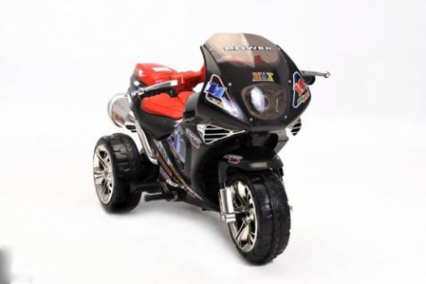 Kinder Elektrofahrzeug Motorrad Sport Schwarz - 6V - Vorschau 5
