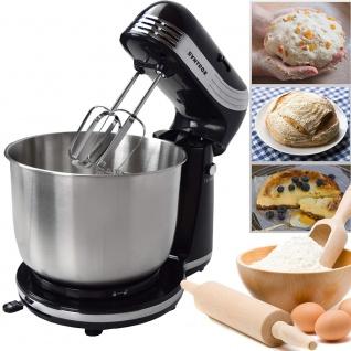 Küchenmaschine Food Processor Knetmaschine schwarz KM-250W Delight