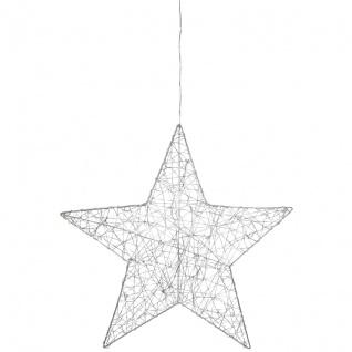 Mark Slöjd LED-Fensterbild Stern ARTUR mit 30 warmweiße LEDs batteriebetrieben auch Netz