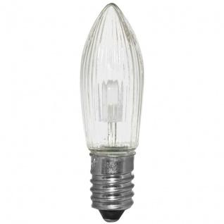 3 x LED-Topkerze, E10/8-34V/0, 3W,