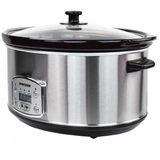 Syntrox Digitaler Slow Cooker 6, 5 Liter mit Timer - Vorschau 4