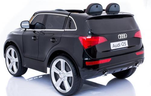 "Kinderfahrzeug - Elektro Auto "" Audi Q5"" - lizenziert - 12V7AH Akku, 2 Motoren- 2, 4Ghz Fernsteuerung, MP3 - Vorschau 3"