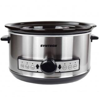 Syntrox Germany Digitaler Slow Cooker 4, 5 Liter mit Timer - Vorschau 4