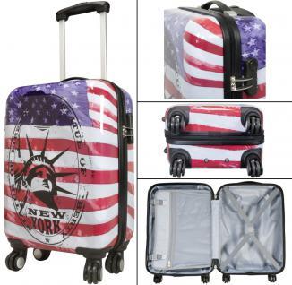 Kofferset Trolleyset Reisekoffer Hartschale 3tlg. NEW YORK II - Vorschau 4