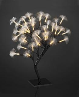 LED-Baum Fiberoptik 45cm 40 BS warmweiß/braun innen
