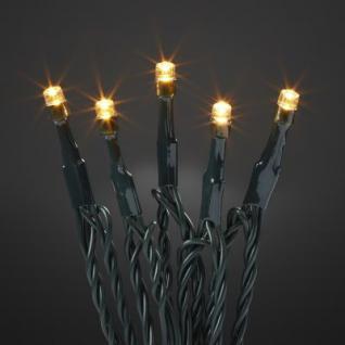 Hellum LED-Lichterkette mit Timer bernstein/grün außen