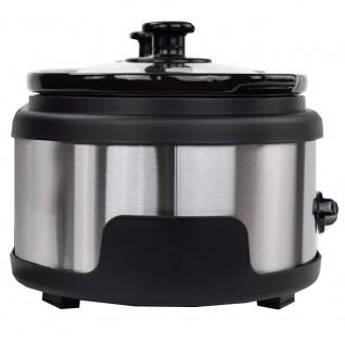 Syntrox Edelstahl Slow Cooker 2 x 1, 5 Liter - Vorschau 5