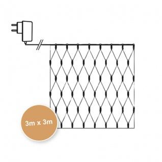 LED-Minilichternetz 300 warmweiße LEDs