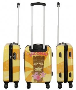 Kofferset 3 tlg. Trolleyset Reisekoffer Hartschale Hawaii - Vorschau 2