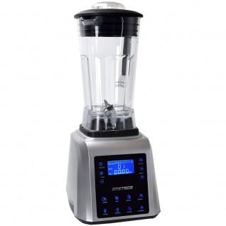 Syntrox Küchenmixer Standmixer Digital, BPA-FREI, 1800 Watt, 40000 U/Min, 2 Liter, 6 Edelstahlklingen - 7 Programme - LCD-Display - Zerkleinerer - Icecrusher - Getreidemühle - Vorschau 2