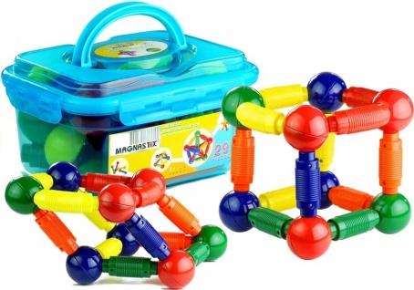 Tolle bunte Magnetbausteine in verschiedenen geometrischen Formen Spielzeug