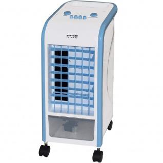 Syntrox 4 in 1 Luftkühler Ventilator Luftbefeuchter Luftreiniger Klimagerät blau