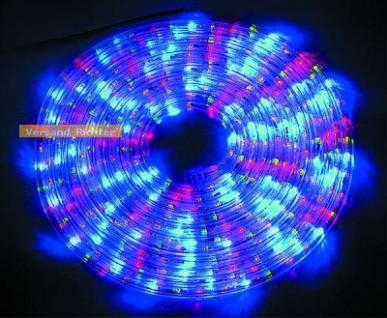 LED Lichtschlauch Lichterschlauch bunt multicolor 9 m