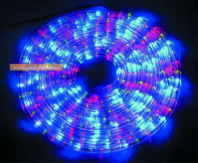 McShine LED Lichtschlauch Lichterschlauch bunt multicolor 9, 00 m