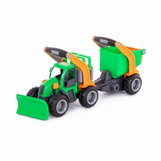 Wader GripTruck Traktor mit Anhänger