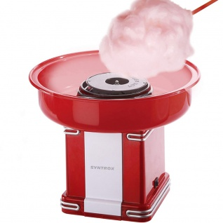 Syntrox Elektrische Zuckerwattemaschine Zuckerwattemaker Cotton Candy Maker ZWM-500W