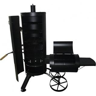Syntrox Smoker Leptobos 2 Barbecue BBQ Grill Räucherofen Holzkohlegrill Grillwagen