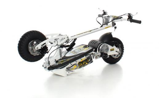 SXT1000 Turbo Elektro Scooter weiss 36V 12Ah Bleigel Akku - Vorschau 4