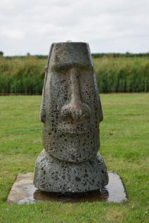 Orito, Osterinsel-Statur, Keramik, 33x30x70 cm, mit 1x8 LED - Vorschau