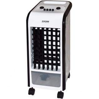 """Syntrox 4 in 1 Luftkühler Ventilator Luftbefeuchter Luftreiniger Klimagerät Grün """" schwarz"""""""
