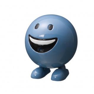 Ubbink Wasserspiel BE HAPPY - Polystone, H19 x Ø16 cm, blau - Vorschau 1
