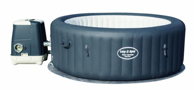 Aufblasbarer Whirlpool Wellness WhirlPool Lay Z-Spa Palm Springs HydroJet, 196 x 71 cm
