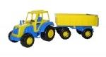 Little Farmer Traktor mit Anhänger