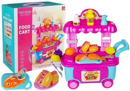 Fast-Food-Markt Toy Car + Zubehör