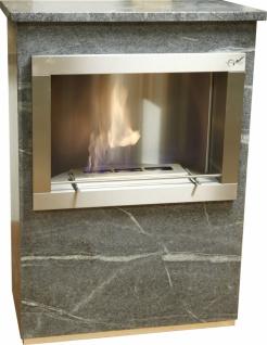 Standkamin Feuerstelle Kamin 110 x 80 cm Speckstein WK-04 SP