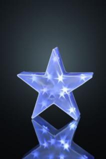 LED-Deko-Stern 16 BS weiss aussen