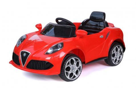 Batteriebetriebenes Elektrofahrzeug 12V Rot 4C Roadster