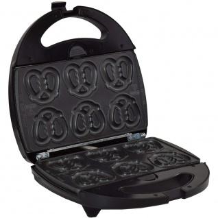 Syntrox Minisoftpretzel Mini Brezel Maker Chefmaker mit austauschbaren Backplatten SM-1300 Watt - Vorschau 2