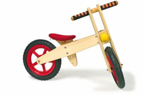 Laufrad aus Holz, Holzlaufrad, Nummer 1