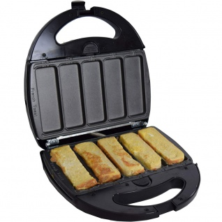 Syntrox Germany French Toast Maker Arme Ritter Chefmaker SM-1300W French Toast herausnehmbare Backplatten - Vorschau 2