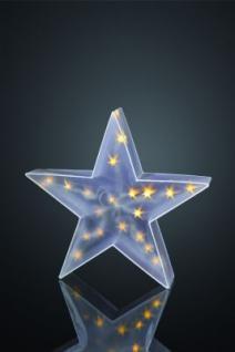 Hellum LED-Deko-Stern 24 BS warmweiss aussen