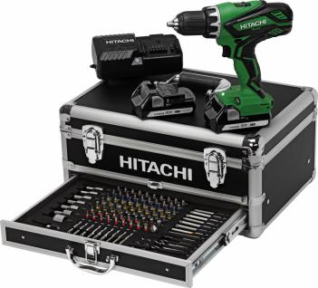 HITACHI 18-Volt-Akkuschrauber Power Box DS 18 DJL