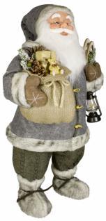Weihnachtsmann Santaclaus Nikolaus KNUD 60 cm