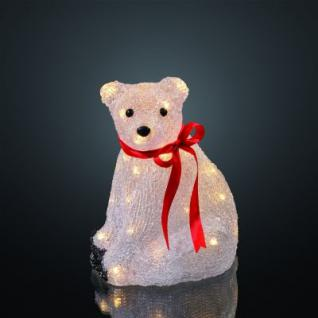 Hellum LED-Polarbär sitzend 32 BS warmweiß außen