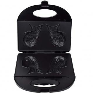 Syntrox Taiyaki Maker japanisches Gebäck in Form eines Fisches - Vorschau 3