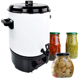 Syntrox Einkochautomat Glühweinkocher 27 Liter