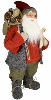 Weihnachtsmann Santaclaus Nikolaus SANDER nordisch, 45 cm