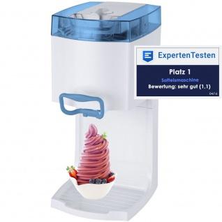 Syntrox Softeismaschine Eismaschine Frozen Joghurt Maschine 4in1 Blau