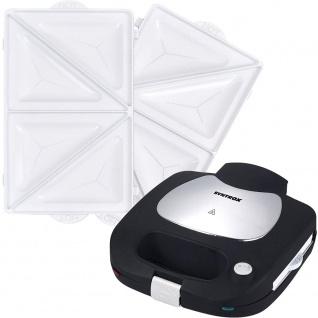 Syntrox Sandwichplatten für Chef Maker SM-1500W Ceramic