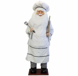 Weihnachtsmann Santa Bäcker 180 cm
